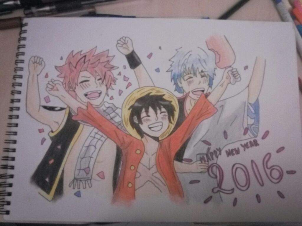 Happy New Year Drawing 45