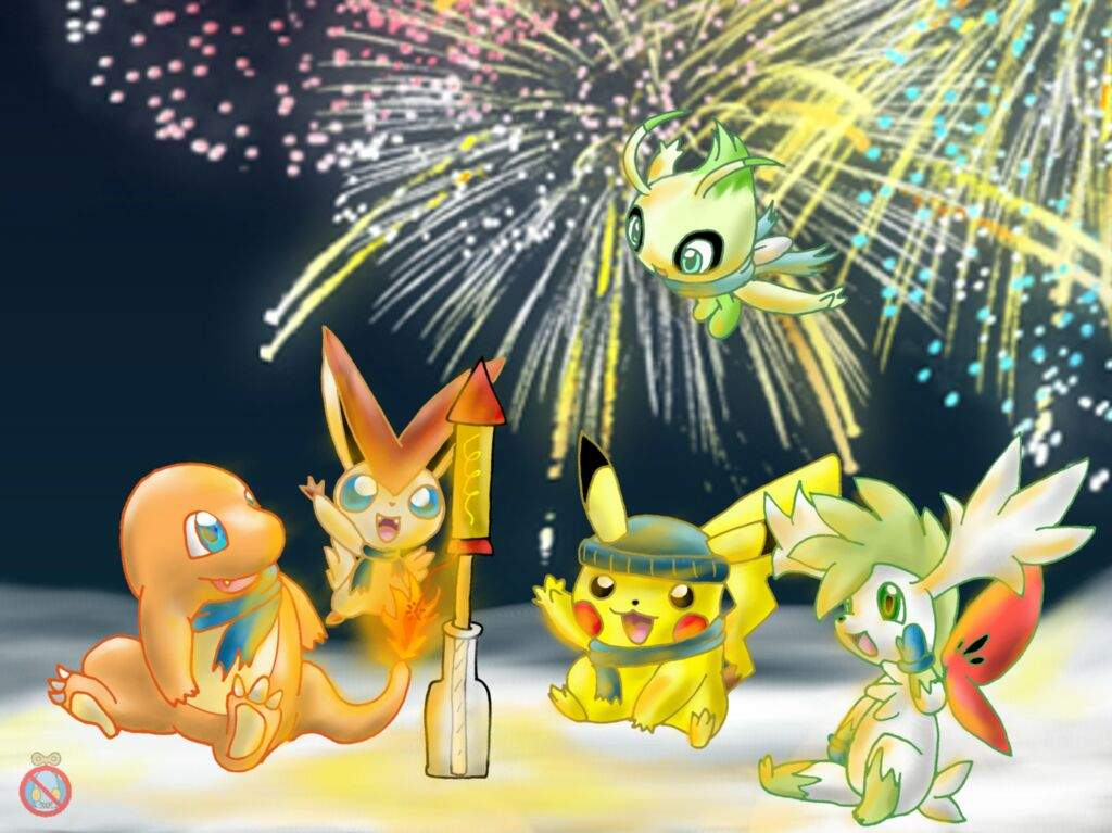 Image result for happy new year pokemon