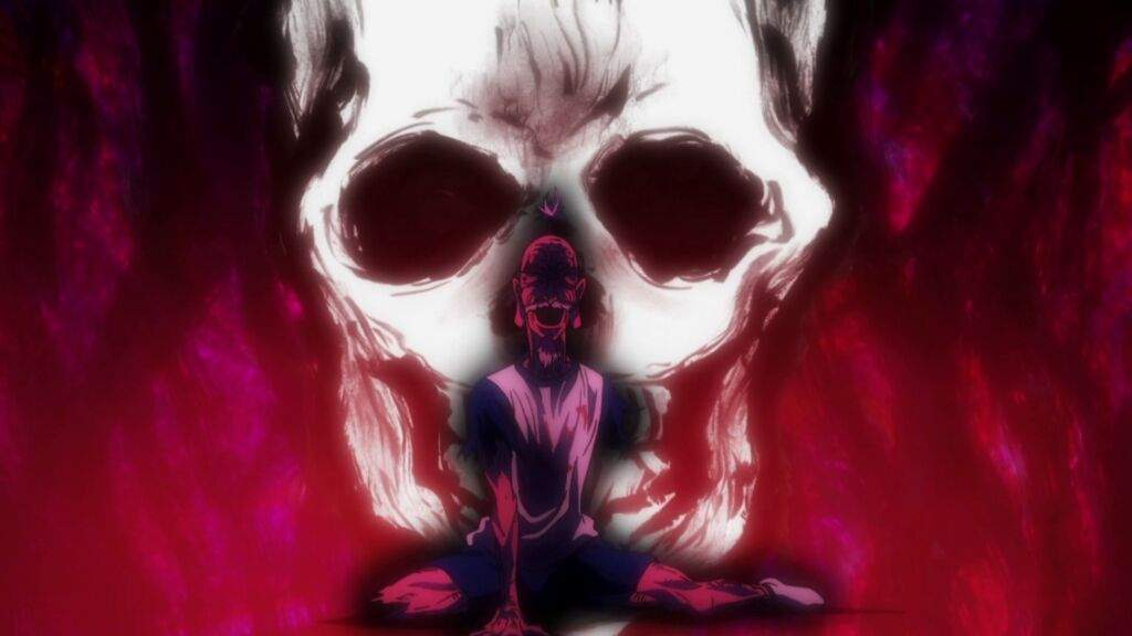 His Death Scared Meruem And Almost Died Netero By Giving The Middle Finger Then Blowing Himself Up