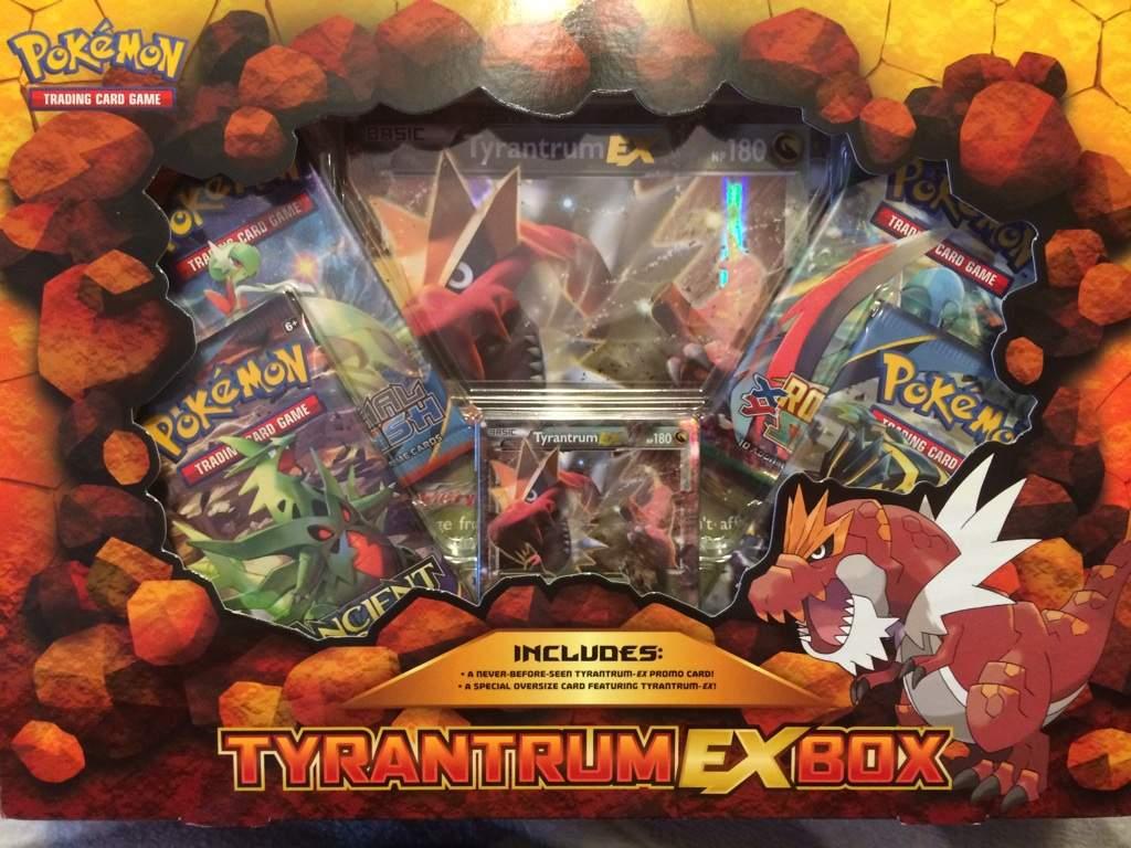 Opening A Tyrantrum Ex Box Pokemon Amino