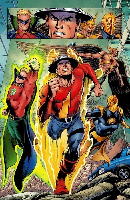 Hitchhikers guide to the speedforce Jay Garrick   Comics Amino