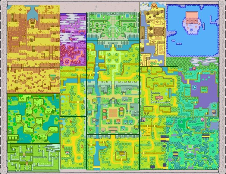 How Do Maps In Zelda Change Video Games Amino