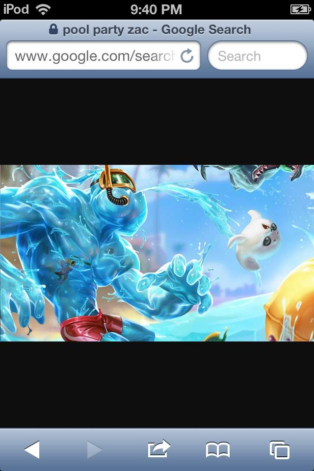 Pool Party Zac Wiki League Of Legends Official Amino
