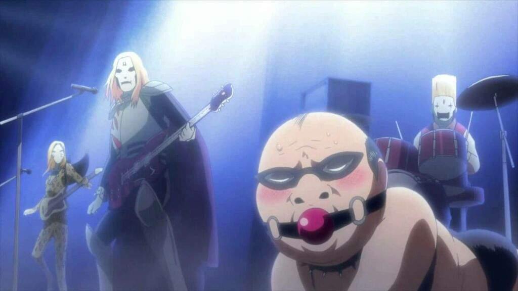 Kết quả hình ảnh cho Detroit Metal City anime
