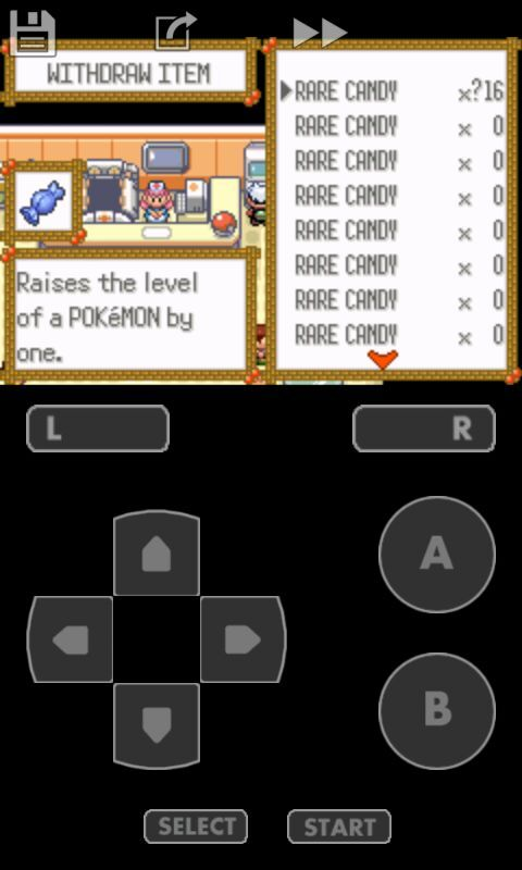 Pokemon Emerald Rare Candy And Master Ball Cheat Code