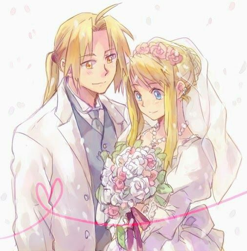 Read Manga Warm Wedding: Bride,groom,flowers......