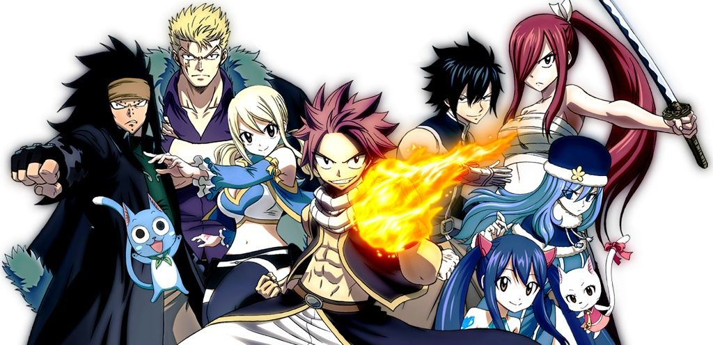 This Is Fairy Tail Anime Revolves On A Mage Guild Called Every Otaku Has Probably Heard About And Watched It But If An