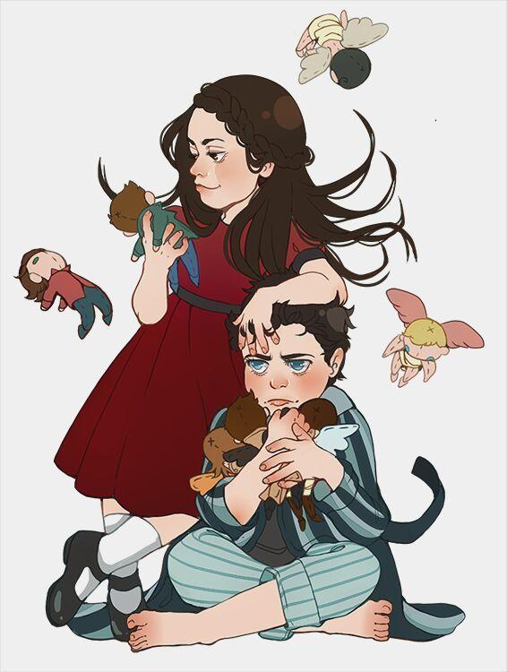 Amara and Chuck (kinda a photo dump) | Supernatural Amino