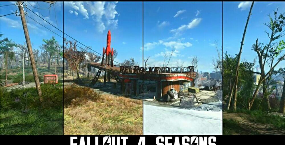 New Fallout 4 Mod Lets You Play in All Four Seasons ! | Video Games