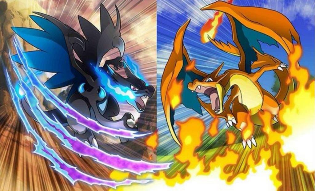 mega charizard x vs mega charizard y pokémon amino