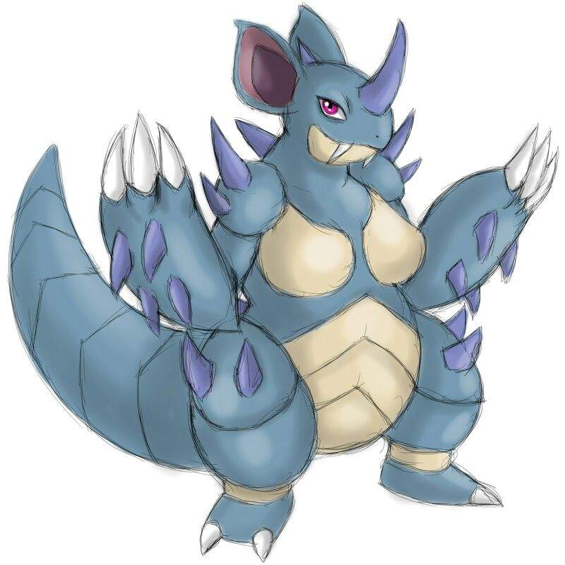 pokemon nidoqueen evolution