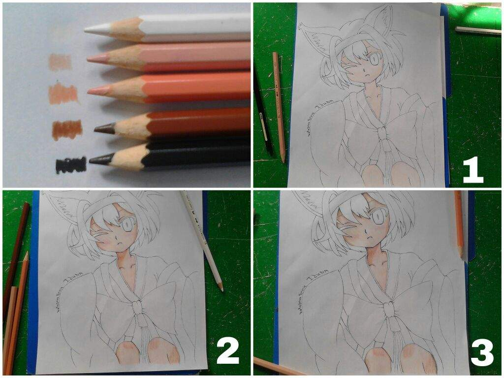 Tutorial # 1: Basic Coloring using Colored Pencils | Anime Amino
