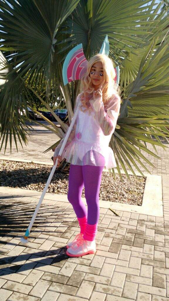 Rainbow quartz steven universe cosplay