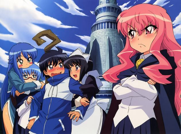 Louise Is A Magician At The Tristein Academy Dubbed With Nickname Zero Due To Her Inability Effectively Use Magic Properly