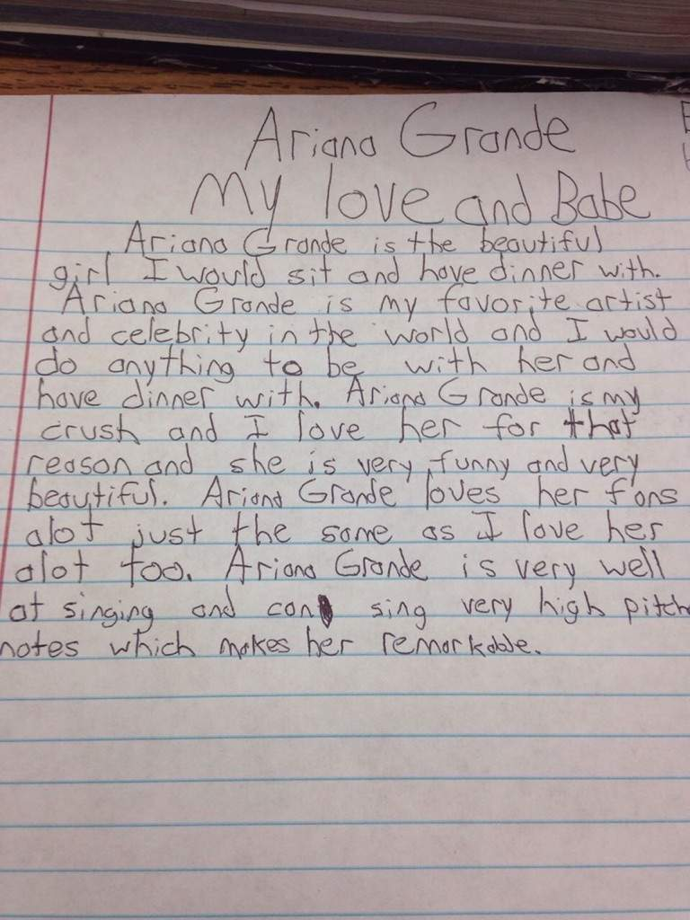 Love letter to Ariana Grande😂 | OMG Amino