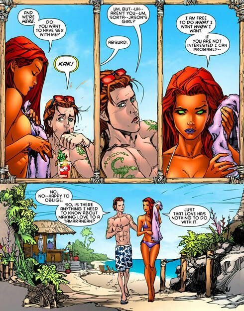 Revisiting Old Controversies Starfire New 52  Comics Amino-9063