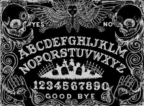 how to close a ouija board