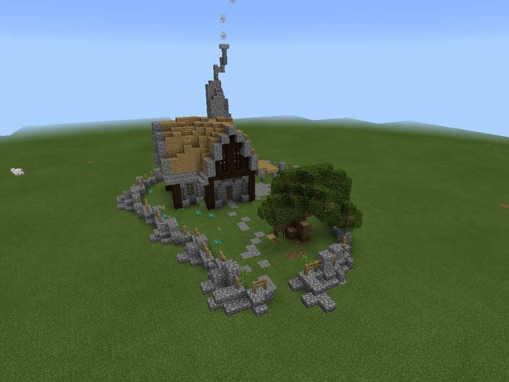 Small medieval house  Minecraft Amino