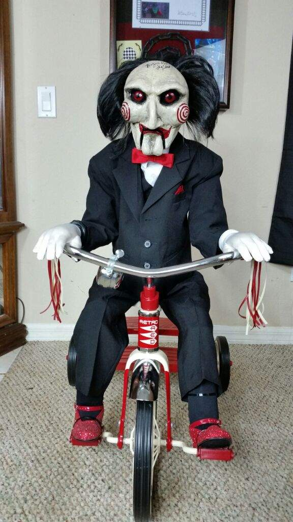 sc 1 st  Amino Apps & From the collection Billy the Saw puppet. | Horror Amino