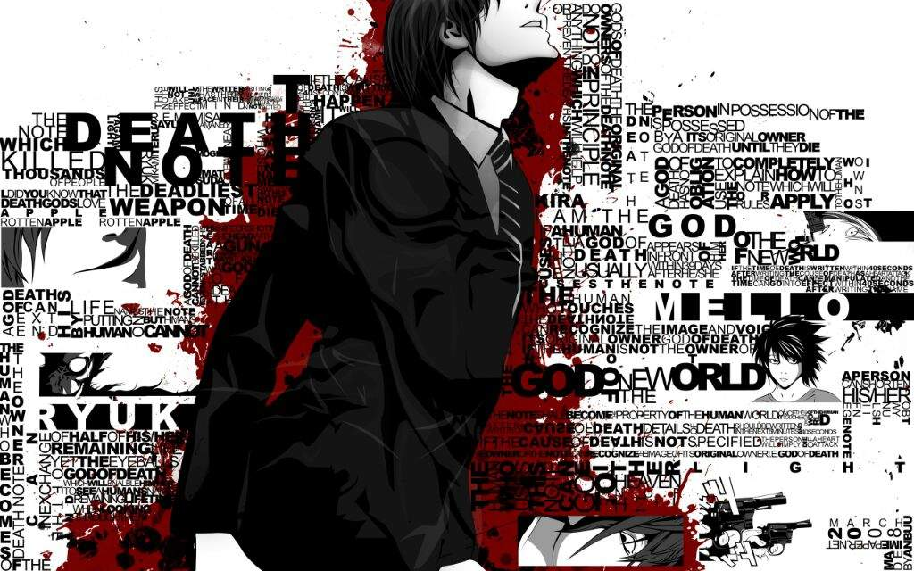 Light Yagama Death Note