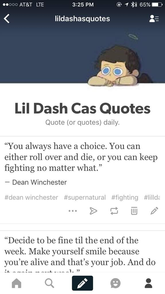 New Spn Quote Tumblr Supernatural Amino