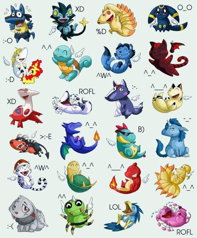 Pokemon Emoji   Pokémon Amino