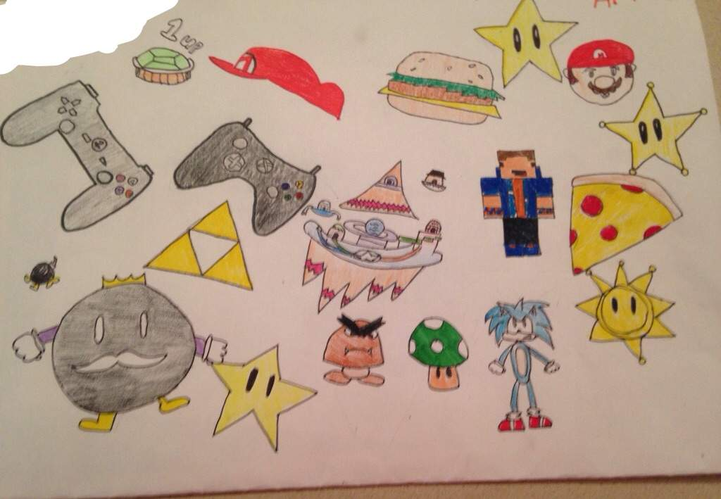Video Game Drawings Video Games Amino