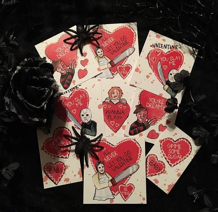 Horror Valentine S Day Cards Horror Amino
