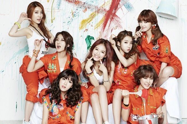 Image result for rainbow kpop