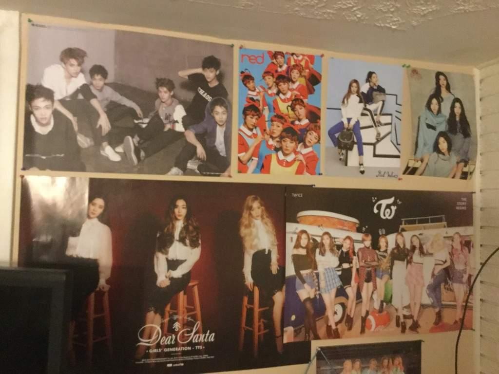 My KPOP posters~bedroom wall | K-Pop Amino