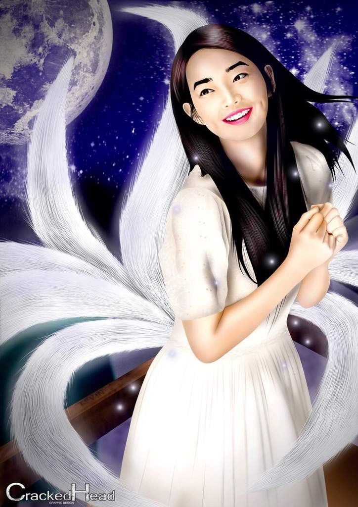 Korean Gumiho Mythical Creatur...