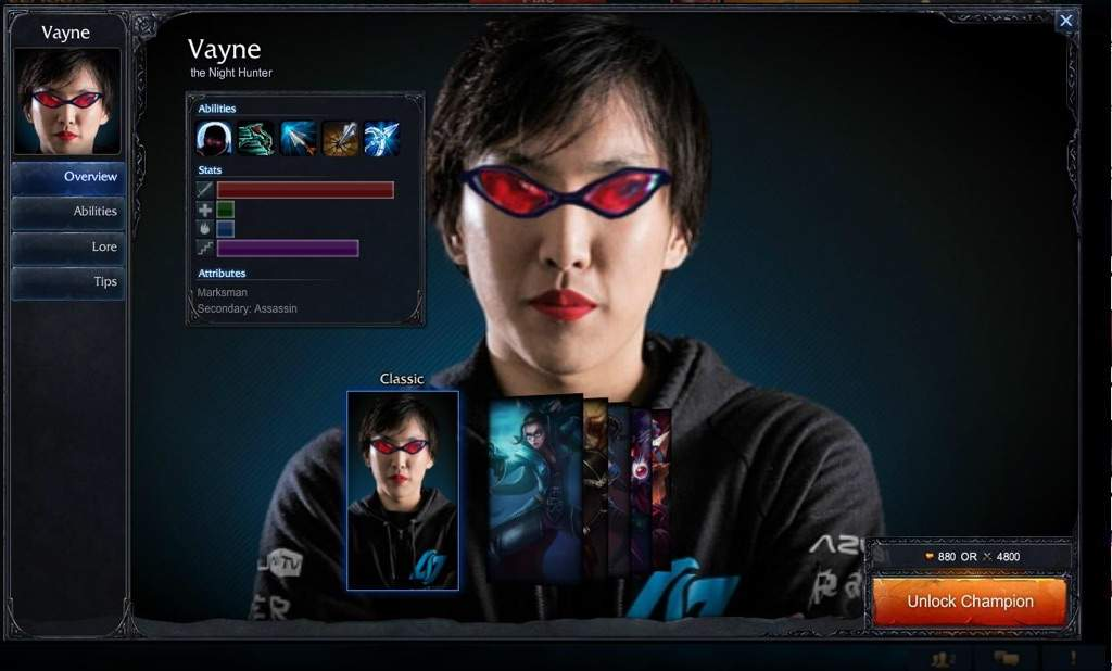 As I play Vayne I just don't see the power I see in all the other AD  carries.