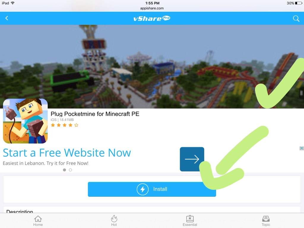 plug for minecraft pe free download ios
