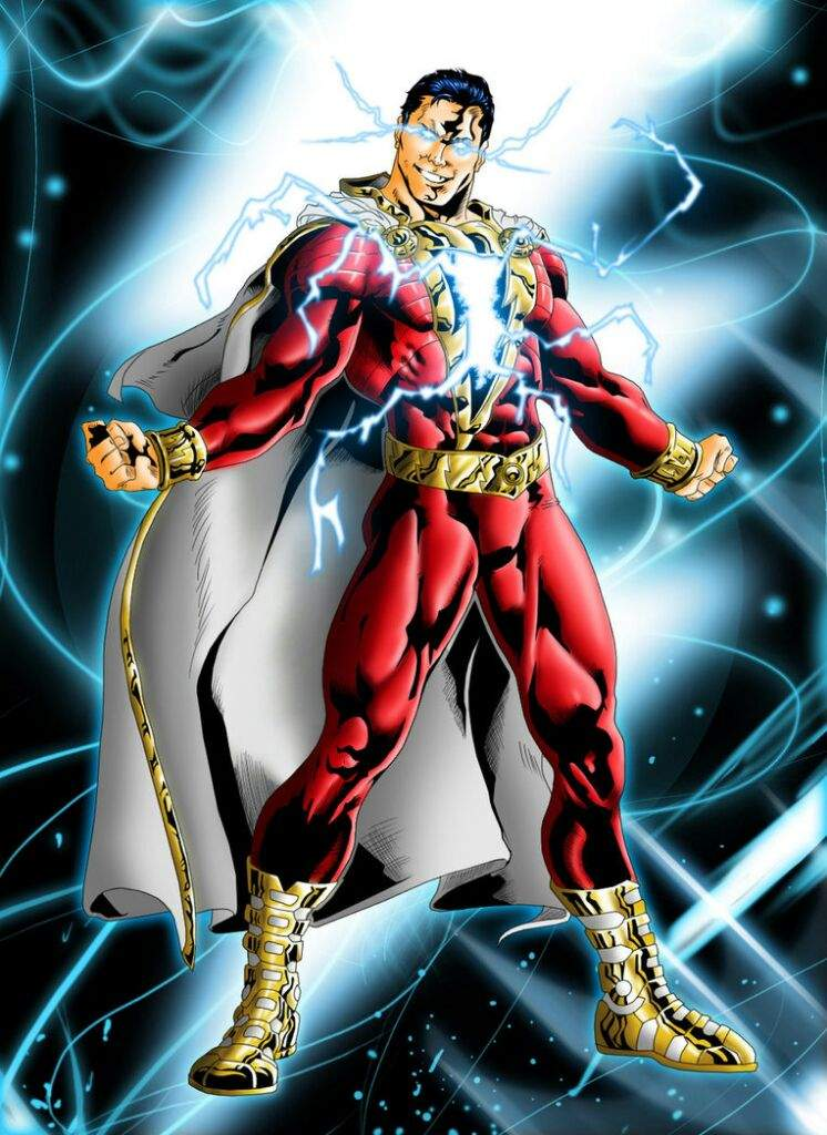 A Classic Deathmatch Pitting Pre New 52 Shazam Against Captain Marvel