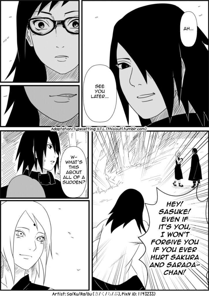 SasuSaku Hidan: Sarada's Birth | Anime Amino