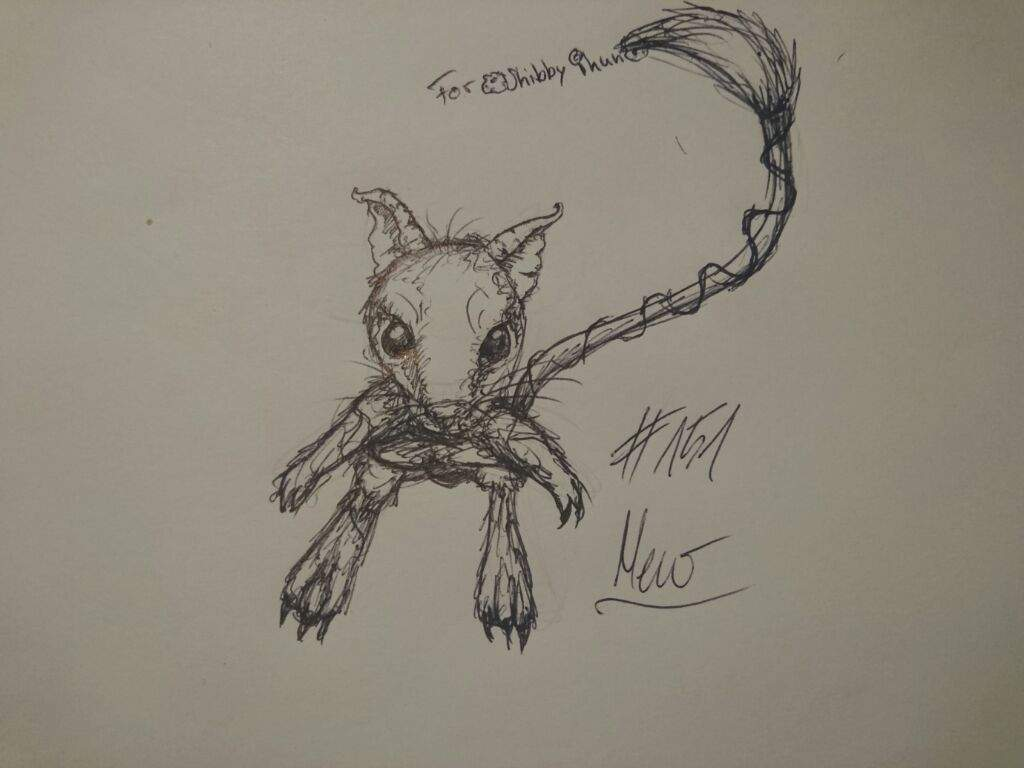 Realistic Drawing Of Mew Pokémon Amino