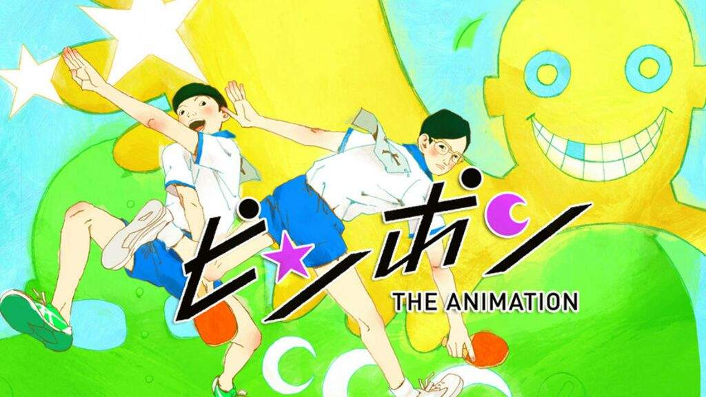Image result for Ping Pong The Animation