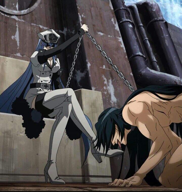 6 Foot Tall Anime Characters : Character spotlight esdeath anime amino