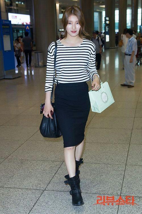 Bae Suzy Airport Fashion K Pop Amino