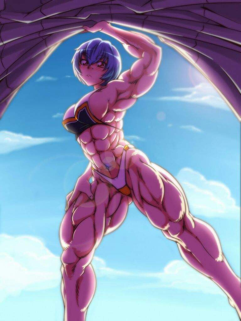 Anime Muscle Girl   Anime Amino