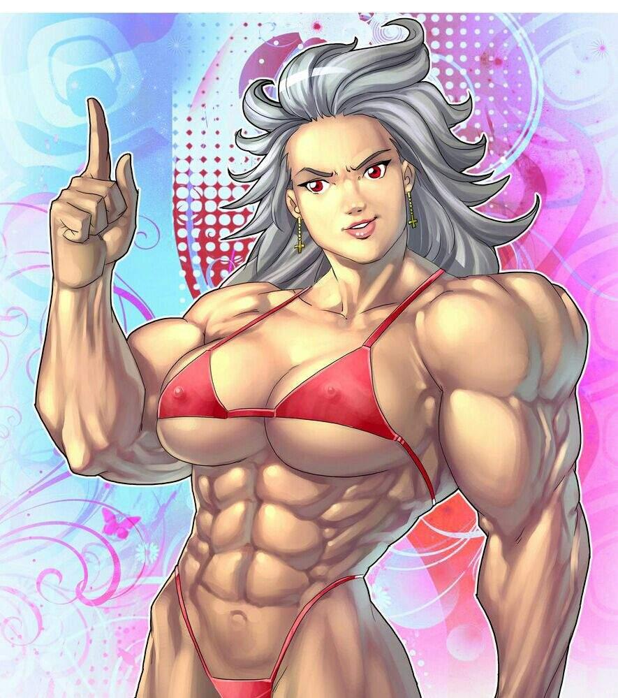 Anime Muscle Girl  Anime Amino-3872