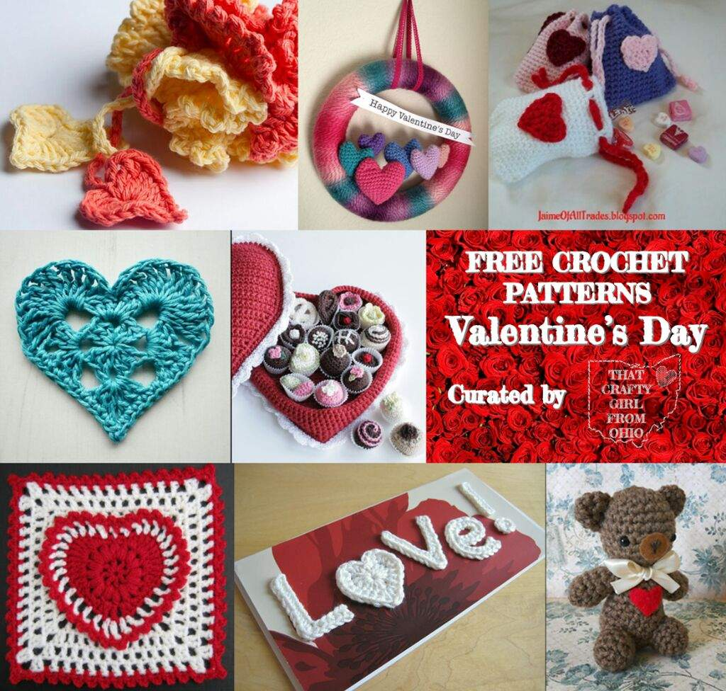 Free Valentines Day Crochet Patterns Crafty Amino