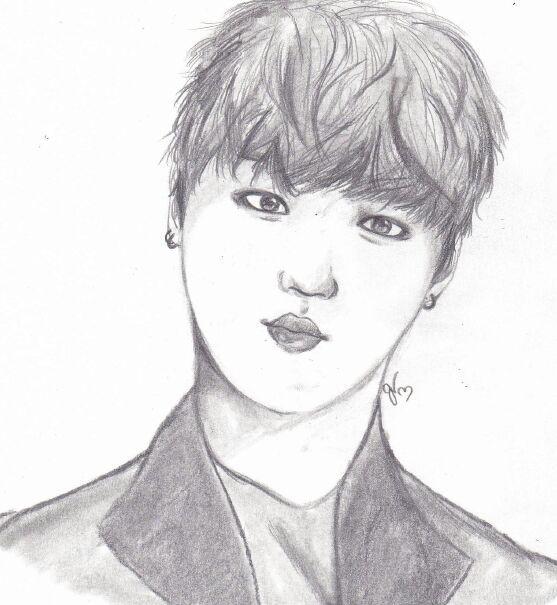 Jimin Sketch | K-Pop Amino