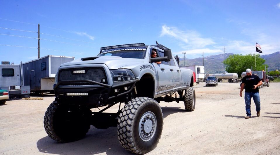 Diesel Brothers Mega Ram >> Mega Ram Garage Amino