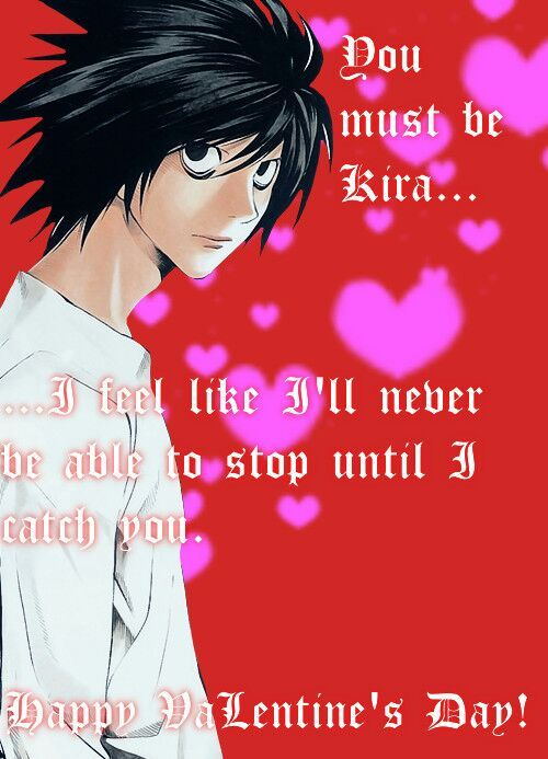 Anime Valentines cards  Anime Amino