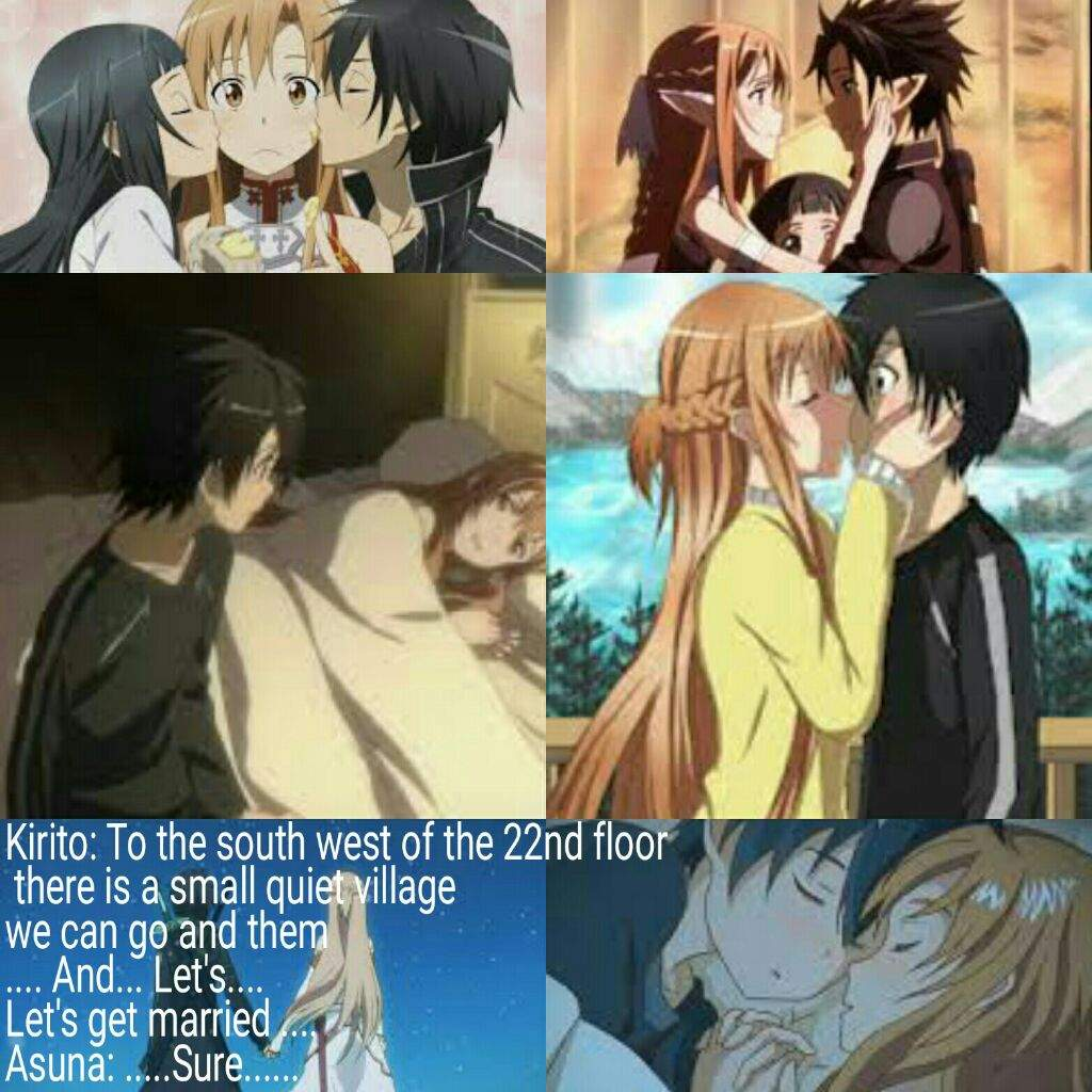 Kirito And Asuna Is My Favourite Ship