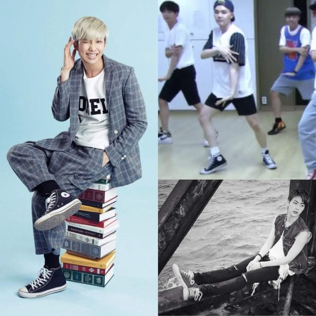 337c26cb5e0908 The other members of  Bts love to rock a pair of converse too ...