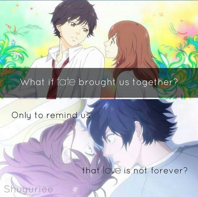 Anime Quotes Shared By A Friend