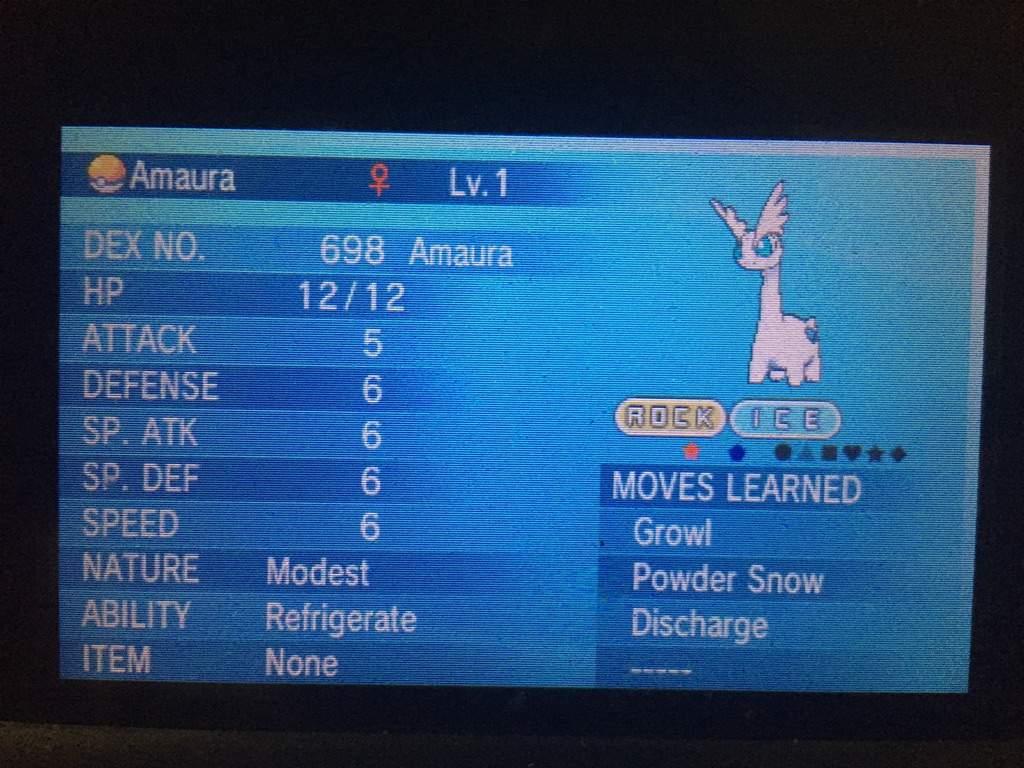 Female amaura