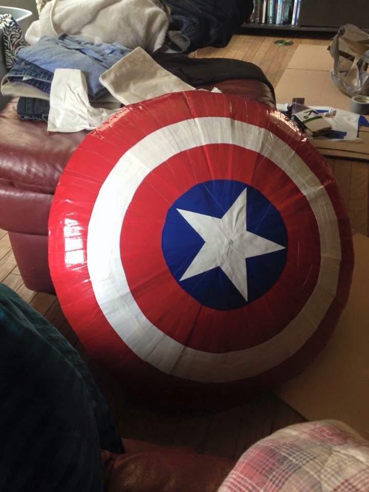 Relatively Cheap Captain America Shield Tutorial | Cosplay Amino SL15